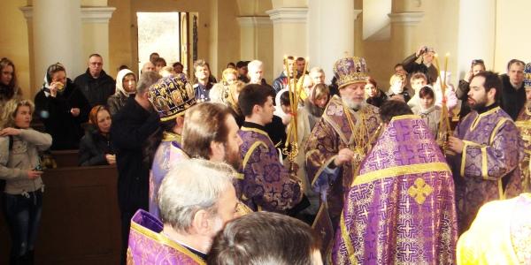 Освящение нового храма в Бероуне