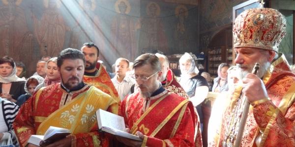 Празднество Медового Спаса в Праге