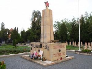 Братская могила воинов Красной Армии в Оломоуце