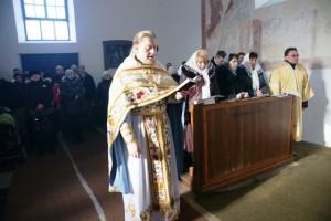 Празднование 5-летнего юбилея Православного Прихода в Клатовах и 5-летия священнической хиротонии отца Олега