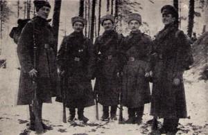 Разведчики 3-й роты.