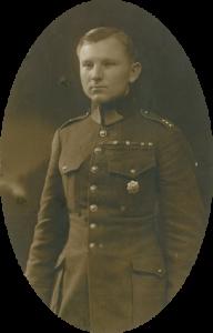 Всеволод Коломацкий в форме офицера чехословацкой армии.
