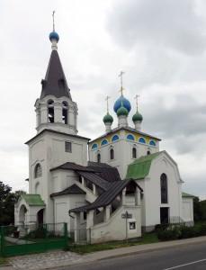 Храм в Худобине.