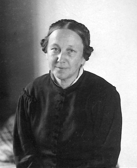 Ольга Васильевна Васнецова, 1930-е годы.
