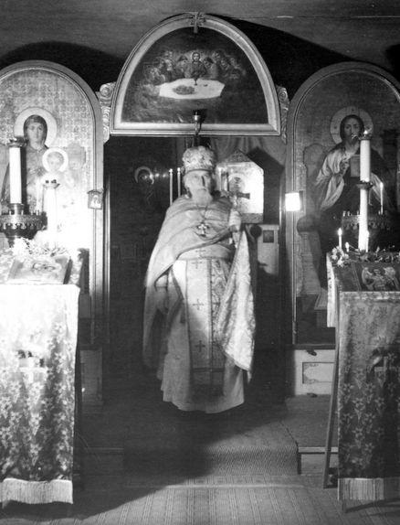 1963 год. Профессорский дом, церковь.