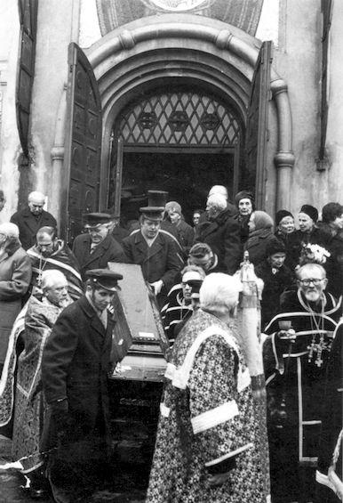 7 февраля 1972 года. Прага, Ольшанское кладбище.