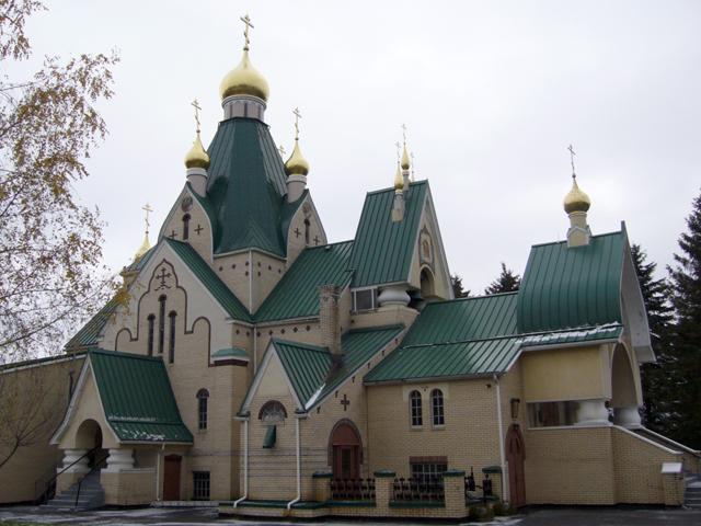 Свято-Троицкий монастырь в Джорданвилле США